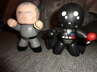 Star Wars Figure Mighty Muggs Darth Vader and Tarkin