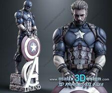 Chris EvansCaptain America 1/8 Scale Resin Model Kit Mcu avengers