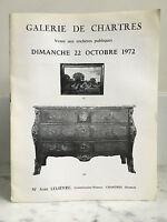 Catalogue Di Vendita Portapacchi Di Chartres Disegni Lavagna 22 Ottobre 1972