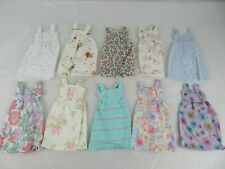 Lot Of 10 Vintage 1970s, 80s  Barbie Doll Clothes Handmade