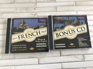 Transparent Language Learn French Now Cd-rom + Bonus Disc