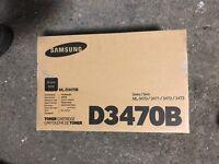 Samsung New  Genuine Original ML-D3470B toner Sealed OEM BOX