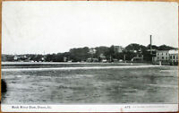 1909 Dixon, Illinois Postcard - Rock River Dam - IL Ill