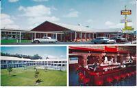 """Salinas CA """"The Wonderlodge of Salinas"""" Motel Postcard California"""