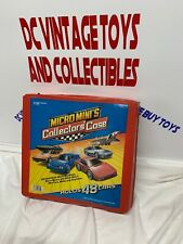 48 Piece Micro Machines + Car Collector Case! Tractor Trailer- Monster Truck Lot