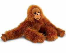 Keel Toys LONG MONKEY Orangutan LIGHT BROWN Soft Toy - 50cm