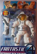 "6"" ASTRONAUT BEN GRIMM with Face Change Figure 2005 Toy Biz FANTASTIC 4 Series 4"