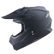 1Storm Adult Motocross Helmet Motorcross ATV MX BMX Dirt Bike Racing Matt Black