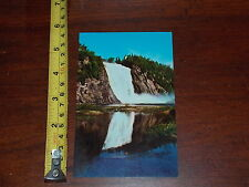 POSTCARD VINTAGE OLD RARE FALLS OF MONTMORENCY QUEBEC CANADA