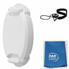 White 40.5mm Lens cap For Sony 16-50mm A6500 A6300 A7 A7r 16-50 Samsung Nikon 1