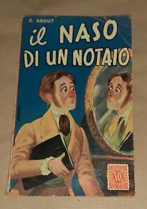Il naso di un notaio - Edmond About - SAS editrice, 1952