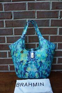 Brahmin Carla Hydro Melbourne Leather Shoulder Bag/Hobo -NWT