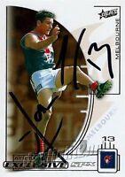 ✺Signed✺ 2002 MELBOURNE DEMONS AFL Card ADEM YZE
