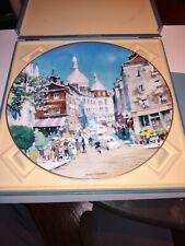 Paul Kingman Royal Doulton Plate (Paris)