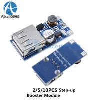 2/5/10PCS 0.9V-5V to 5V DC-DC Booster USB Mobile Step-up Power Supply Module