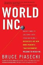 World, Inc : When It Comes to Solutions - Both Local and Global - Businesses Are