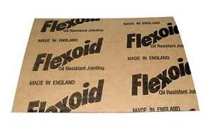 GASKET PAPER SHEET 0.8MMTHK  A4 size genuine flexoid 2 sheets per set
