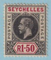 SEYCHELLES 72 MINT HINGED OG * NO FAULTS EXTRA FINE !