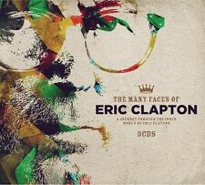 Various Artists - Many Faces Of Eric Clapton / Various [New CD]