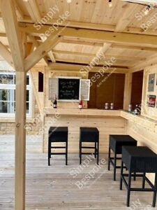 HIDEAWAY GARDEN BAR / SUMMER PARTY / MAN CAVE / MADE TO MEASURE ALL SIZES