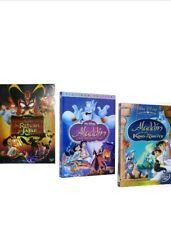 Aladdin Trilogy 1 2 3 DVD (return of Jafar King of Thieves)
