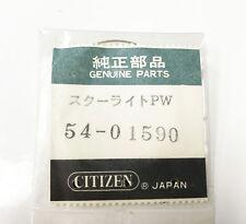 #4-180356 Flat dome 54-01590 X-tal Citizen Original Acrylic Crystal Plastic Case