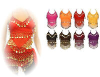 Wholesale Lot of 50 Assorted Womens Halter Camisole Belly Dance Top Dangle Coins