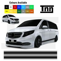 Side Stripes for Mercedes Vito Decals Stickers Graphics Vinyl Van Sticker Pin