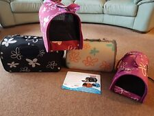 Pet Travel Carrie Bag Portable Crate Puppy Dog Cat Rat new 18 items job lot