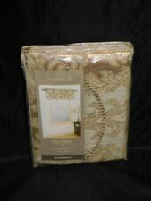 Home Trends Gold Jefferson Valance 55 x 18 in New NIP Window Accent 2175548