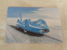 "Postcard - ""Bluebird"" Donald Campbell's Land Speed Record Car - John Pittaway"