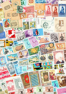 WW Unsorted lot - Mainly Middle East - Full scanner Page - Many MNH OG