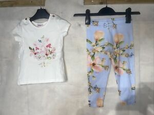 Girls Ted Baker Set. New Size 18-24 Months
