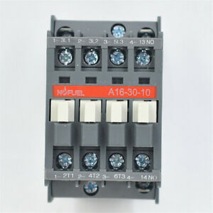 A16-30-10 Contactor AC 120V 16A Directly Replace for ABB Contactor A163010