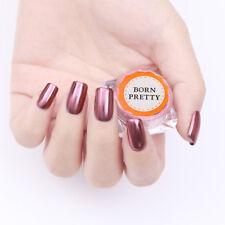 0.3G BORN PRETTY Magic Mirror Rose Gold Glitter Manicure Chrome Pigment Powder