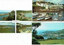CORNISH POST CARDS COLOUR PHOTOS OF COVERACK