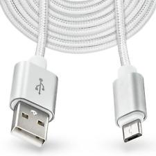 Ladekabel mit Micro USB Anschluss fuer Smartphones, aus Nylon und extra schnell