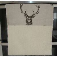 Roller Towel Stag Heads Aga Rayburn Range Oven Rolling Stags