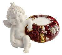 Engel LUCY III *christmas berries* Dreamlight Teelicht Teelichthalter - 20352C