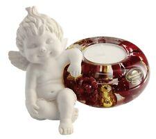 Angel Lucy (III) Christmas Berries Dreamlight Tealight Tealight Holder - 20352C