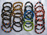 Mens Beaded Surfer Bracelet Bead Surf Wristband *Choose