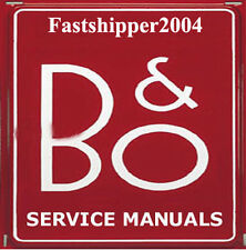 Bang & Olufsen B+O Service Manuals Circuits & Schematics Owner's Manual B&O CD