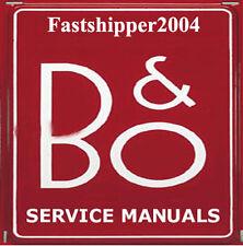 Bang & Olufsen B+O Service Manuals Circuits & Schematics Owner's Manual B&O CD