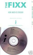 THE FIXX How Much is Enough RARE JEFF LORBER PROMO CD