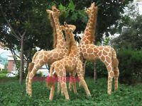96cm New standing simulation giraffe toys plush Stuffed Animals Soft Doll Gift