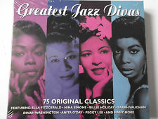 Greatest Jazz Divas - 75 Hits-B. Holiday, E. Fitzgerald, R. Clooney, N. Wilson