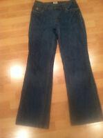 IZOD Vintage Women's High Waist Jeans Size 30X31 Boot Cut Wide Leg RETRO Size 4