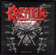 "Kreator Patch/ricamate # 11 ""Enemy of God"" - 10x10cm"