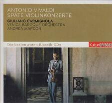 Giuliano Carmignola / Antonio Vivaldi - Späte Violinkonzerte - A. Marcon (NEU!)