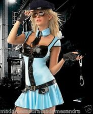 SEXY POLICE COSTUME COP OUTFIT Fancy Dress HALLOWEEN Party Dress